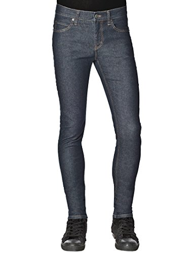 Cheap Monday Homme Tight Jean slim, Bleu Bleu