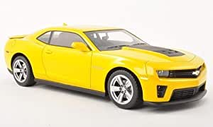 Chevrolet Camaro ZL1, jaune, 2011, voiture miniature, Miniature déjà montée, CMF 1:18