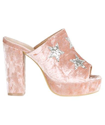 KRISP - Peep-Toe donna Pink