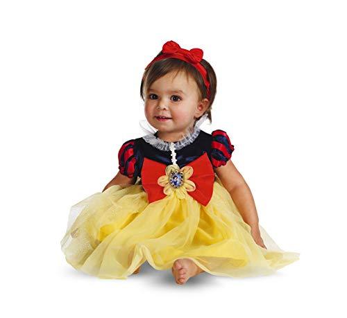 Snow White Infant 6-12 Months - Disney Snow White Baby Kostüm