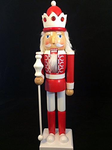 Smart Deko 44301 Deko Nussknacker 38 cm für Geschenke, Weihnachten, Dekoration (Weihnachten Nussknacker Dekoration)