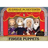Great Scientists Finger Puppet Set by The Unemployed Philosophers Guild (English Manual)