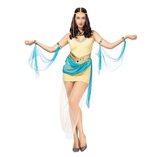 ZHANGCHNA Lady Halloween-Kostüm Griechenland Venus Göttin Antediluvian griechische Prinzessin Kostüm-Halloween-Charakter COS Undifferenzierte (Color : A, Size : One (Womens Native Prinzessin Kostüm)