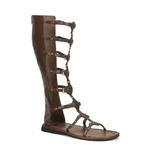 Adult Gladiator Sandals - Small Fancy Dress