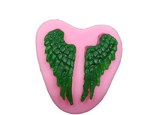 Angel Wing Silikon Form Winkel Baby Engel Cherub Angle 's Wings Flügel Silikonform für Sugarcraft Formen DIY Kuchen dekorieren -