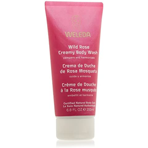 Cremoso Body Wash Weleda Wild Rose, 1er Pack (1 x 200 ml)