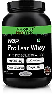 World Of Proteins Wop Pro Lean Whey-The Fat Burning Whey- 2 Lbs- Chocolate