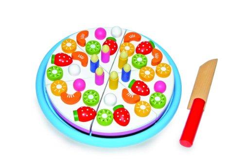 schneide-geburtstagskuchen-aus-holz-leuchtend-bunt-gestaltet-fruchte-und-kerzen-sind-durch-magnete-a
