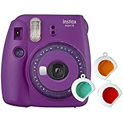 Instax Mini 9 Appareil Photo Transparent Violet