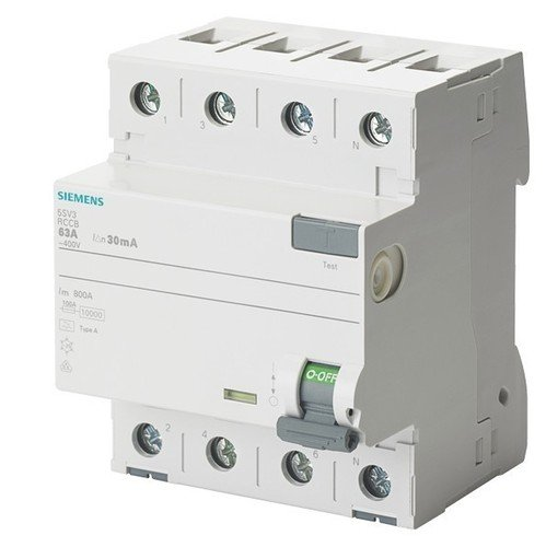 Siemens 5SV3344-6 Residual-current device A-type 4P