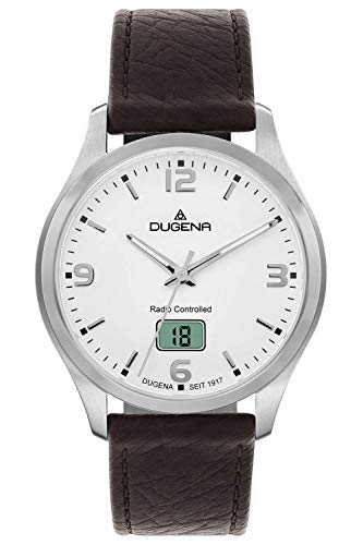 Dugena Quarz-Armbanduhr, Saphirglas,
