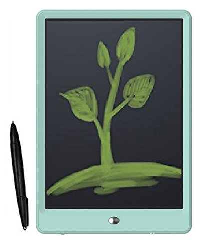 """Portable RuffPad E-Writer (Updated -2018) 10"""" LCD kid educational Writing Pad Paperless Child Study Kid Memo Digital Tablet Notepad Stylus Drawing Handwriting Board. Write notes, lists & make doodles without using paper or pen (Light Green)"""