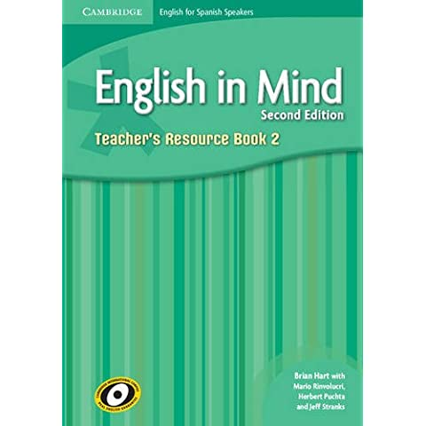 English in Mind for Spanish Speakers  2 Teacher's Resource Book with Class Audio CDs (3)