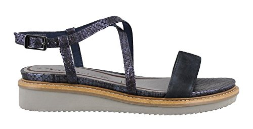 Tamaris 1-1-28206-28-864, Sandali donna 864NAVY/METALLIC