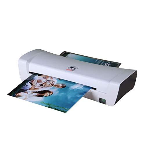 Plastificadora Biback Laminadora Plastificadora A4 con 2 Rodillos de 250mm / min Rápido Calentamiento de Laminado, 340mm A4 de Ancho Máximo para Documentos/Fotos / Tarjetas de Mano