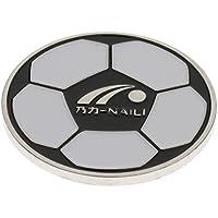 MagiDeal Coin Pile au Face pour Football Accessoire de Arbitre de Foot, Rond, Alliage, 4 cm