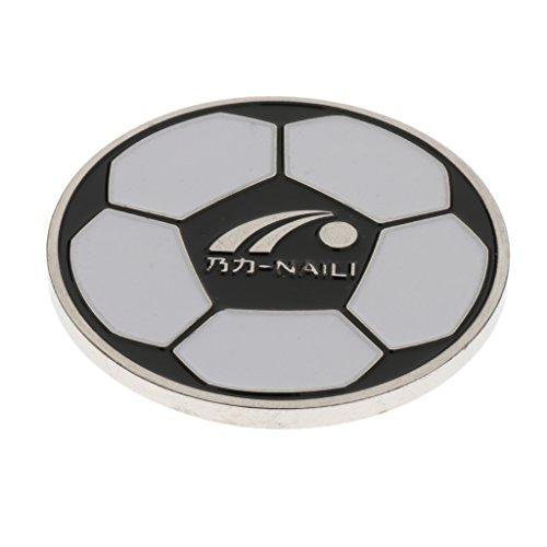 MagiDeal Schiedsrichter Wählmarke für Fußball - 4 cm
