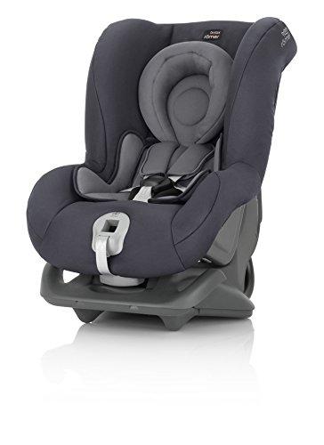 Britax Römer First Class Plus, Autositz Gruppe 0+/1 (Geburt -18 kg), Kollektion 2019, storm grey