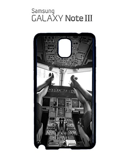 Sexy Women Pilot Cockpit Funny Hipster Swag Mobile Phone Case Back Cover Coque Housse Etui Noir Blanc pour for Samsung Galaxy S4 White Noir