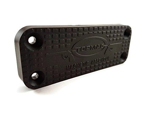 TOPMAG Gun Magnet   Tactical magnetisch Pistole Halter   spezifische Bei 44lbs   für Zuhause, Büro, Auto (Ski-rack Mount)