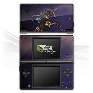 DeinDesign Skin kompatibel mit Nintendo DSi Folie Sticker Einhorn Pferd Fantasie