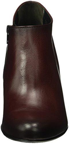 Gabor Damen Fashion Kurzschaft Stiefel Rot (Merlot (Effekt) 25)