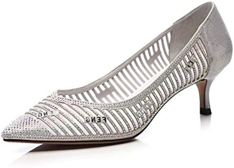 BalaMasa APL11272,  s Compensées Compensées Compensées Femme - Argenté - Silver, 36.5B07HLTHMFQParent 401ad6