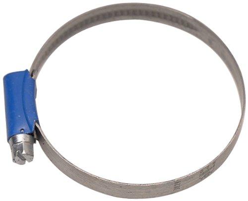Aparoli 841520 Abrazadera para Tubos Flexibles, 60-80 mm (Rosca helicoidal, Ancho de fleje 9 mm, 10 Unidades) Color Azul