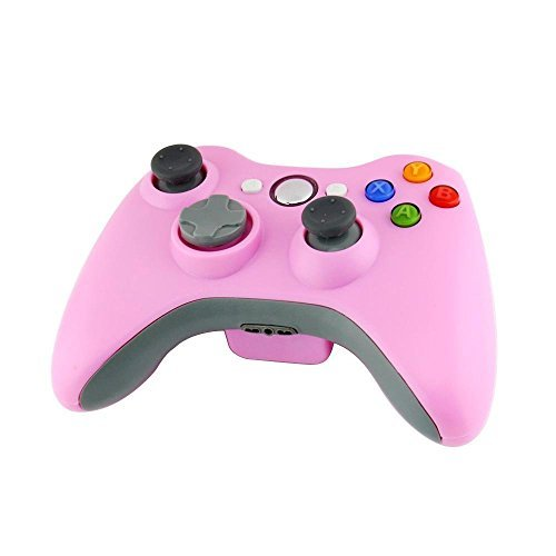 Rosa Für 360 Controller Xbox Wireless (Stoga STB02 Xbox 360 Controller Xbox 360 Wireless Controller Neue Drahtlose Entfernten Pad-Game-Controller für Microsoft Xbox 360 PC Windows 7 XP Whit Joypad Wireless Controller für Windows Bluetooth (Rosa))