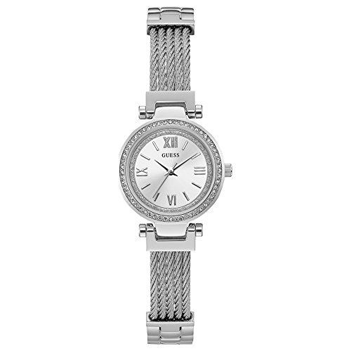 GUESS Mini Soho Damen-Armbanduhr 27mm Armband Edelstahl Quarz Analog W1009L1