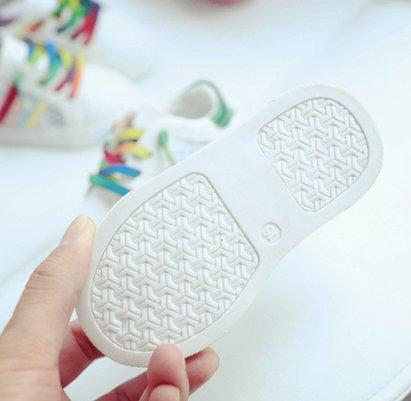 Ohmais Enfants Chaussure bebe fille premier pas Chaussure premier pas bébé sandale en cuir souple Vert