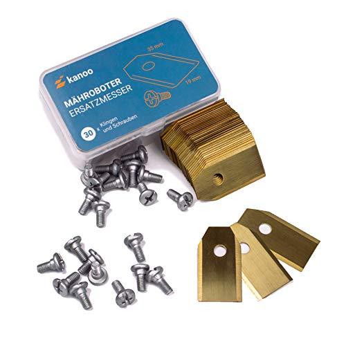 Cuchillas de repuesto para robot cortacésped Gardena® / Husqvarna® Automower® – Cuchillas de repuesto para robot cortacésped con revestimiento de titanio
