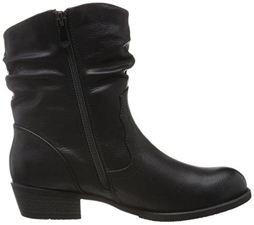 Supremo 1621607 hauteur doublure Bottes femme avec Noir mi Noir chaude T4rtTwxd