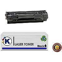 KONVER K 36A, 1 X Tóner compatible, reemplaza a CB436A, para uso en Impresoras P1500, P1505, P1505N, M1120, M1120N, M1120MFP, M1522, M1522N, M1522F, M1522NF, 1522MFP