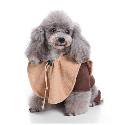 Bello Luna Haustier Kostüme Hund seltsame Kleidung mit Jacke und (Kostüm Ewok Cosplay)