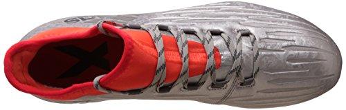 adidas X 16.2 Fg, Chaussures de Foot Homme Plateado (Plamet / Negbas / Rojsol)