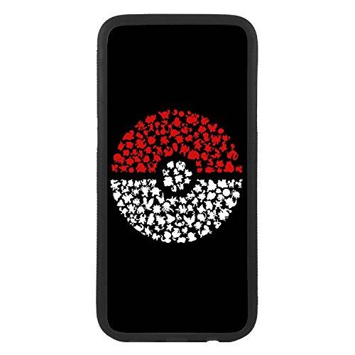 Desconocido Funda Carcasa para Móvil Bola de Pokemon go Case Cover 75b38020e38b0