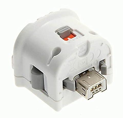 Generic Weiß Bewegung Plus Externer Motion Adapter Sensor Games-Zubehör Für Nintendo Wii Remote