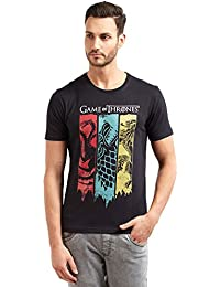 Game of Thrones Redwolf Sigil Banner HBO® Licensed Half Sleeve Cotton T-Shirt
