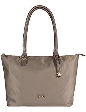 L. CREDI Damen Nylon Handtasche