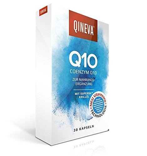 QINEVA Q10 - Die gezielte Q10 Versorgung mit hoher Bioverfügbarkeit - natürlich//sicher//effektiv HOCH RESORBIERT statt HOCHDOSIERT
