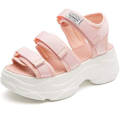 Frauen Hohe Plattform Sandalen Sommer Mode Dicke Sohle Freizeitschuhe Weibliche Candy Farbe Outdoor Strände Klobige Sandalen