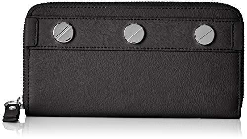 Liebeskind Berlin Damen Ring Aruba Wallet Large Geldbörse, Schwarz (Black), 3x10x19 cm