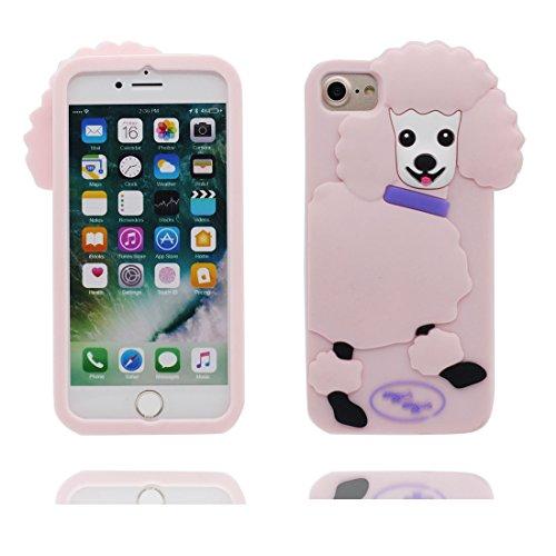 """iPhone 6 Plus Coque, iPhone 6S Étui Cover Housse pour iPhone 6s Plus 5.5 """" Gel TPU Shell iPhone 6 Plus Case (5.5"""") Résistant à la poussière Scratch (3D Cartoon chat Stripe) # 3"""