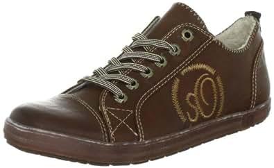 s.Oliver Casual 5-5-53200-29, Mädchen Sneaker, Braun (NUT 440), EU 36