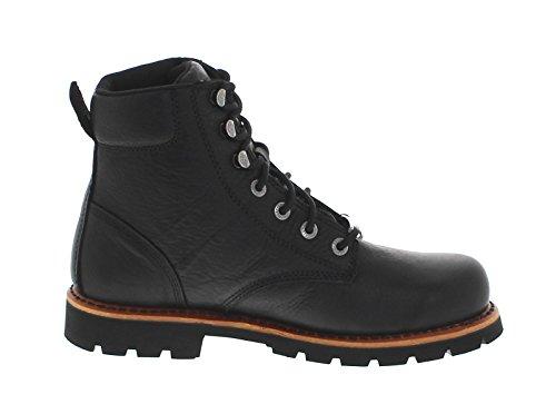 FB Fashion Boots Harley Davidson Vista Ridge D93423 Black/Herren Schnürstiefel Schwarz/Harley Boots/Chukka Stiefel Black