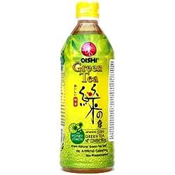 Oishi - Grüner Tee Getränk Honig Zitrone - 500ml - Drink aus Thailand