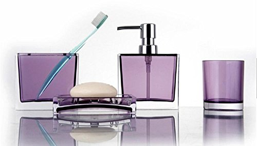 plexiglass-accessori-bagno-imposta-4pieces-regalo-di-nozze-portabottiglie-emulsione-spazzolino-collu
