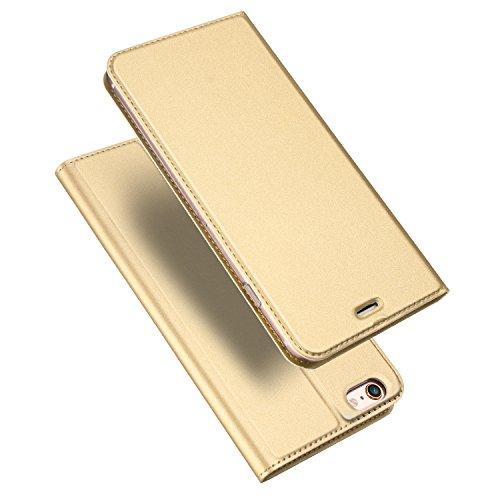 Galleria fotografica Dux Ducis custodia per Apple, Ecopelle, Gold, iphone 6s / iphone 6