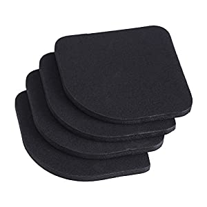 Zerodis 4pcs Washing Machine Pads EVA Anti-Vibration Pads for Home Appliance Scratch Protector from Zerodis